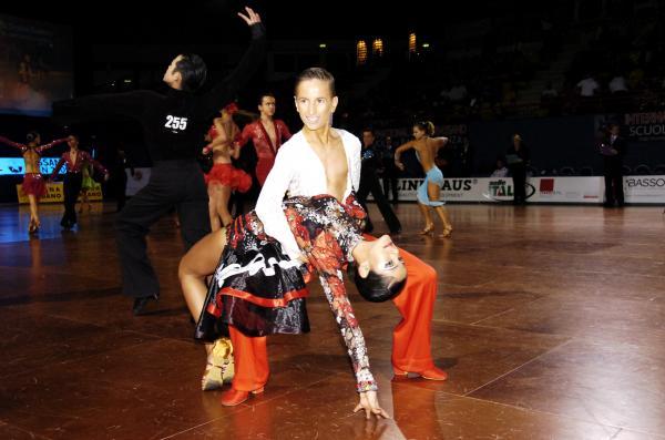 конкурс по спортивным бальным танцам