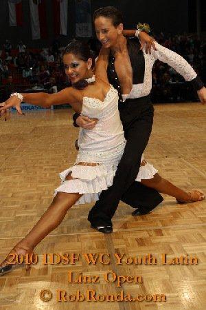 растяжка в бальных танцах